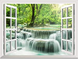 """wall26 Removable Wall Sticker/Wall Mural - Waterfall in Thailand 