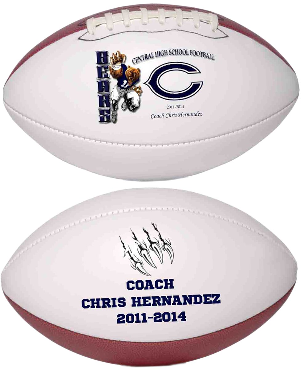 Personalized Custom Photo Regulation Football - Any Image - Any Text - Any Logo by Personalized Sports Balls (Image #4)