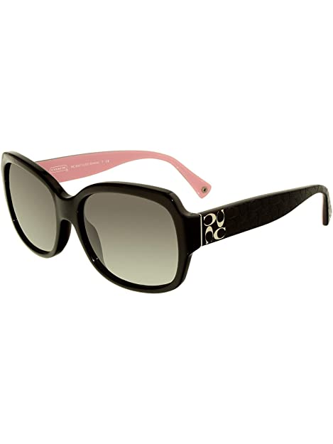 d56fb33a1f Coach Women s Gradient Emma HC8001-505311-57 Black Square Sunglasses ...