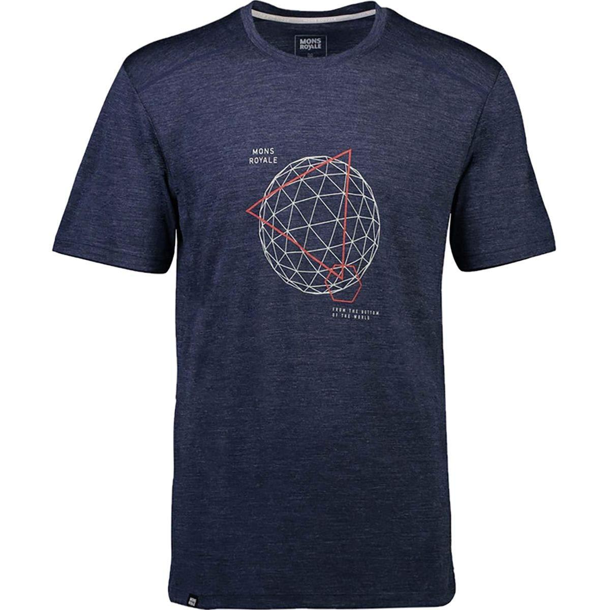Mons Royale Herren Huxley Hike t-Shirt merinoshirt neu