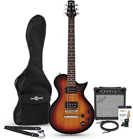 Set de Guitarra Electrica New Jersey Classic Vintage Sunburst + ...