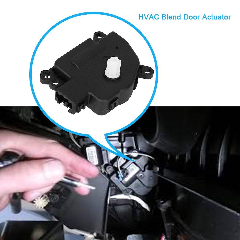 HVAC Blend Door Actuator for 2008-2016 Chrysler 300 & Chrysler Town and  Country, Dodge Challenger/Charger/ Grand Caravan, Ram C/V, Ram Dakota,