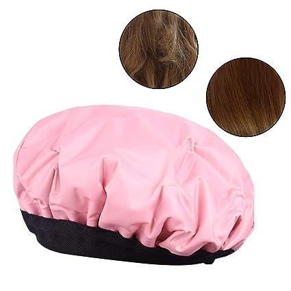 1 gorra de gel acondicionador para cabello con calor y compresa ...