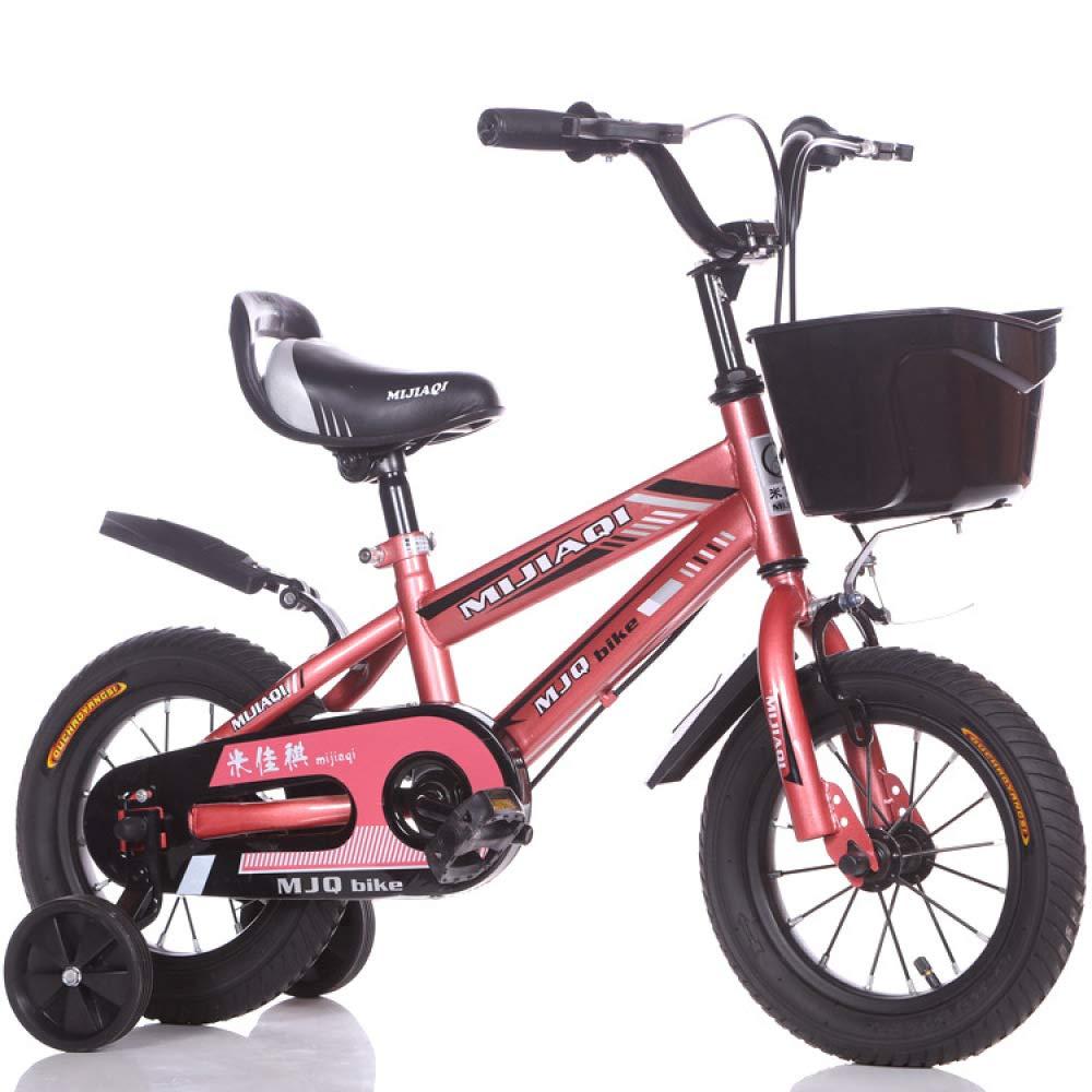 Defect Kinder Zoll Fahrrad 14-16-18 Zoll Kinder männlichen und weiblichen Kinderwagen 6 Jahre altes Mountainbike Kind vierrädriges Fahrrad cf19f1