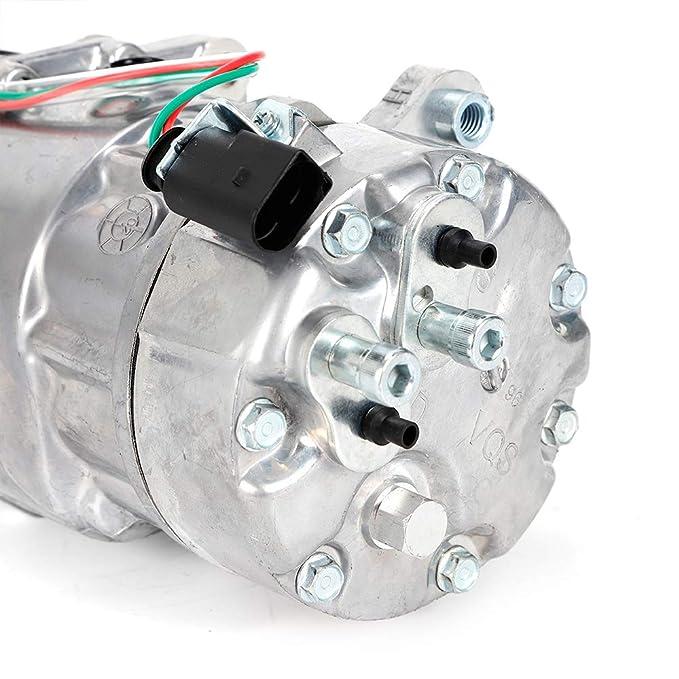 Compresor de aire acondicionado ovalado 12V Compresor de ...