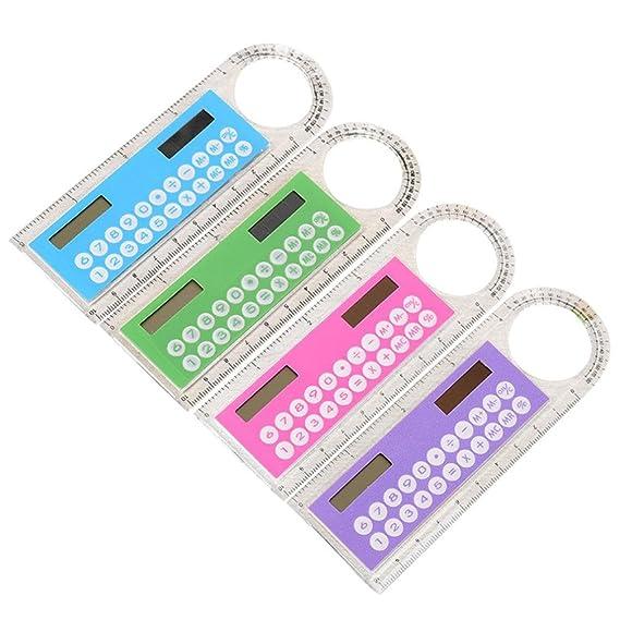 e426eb444 Amazon.com: Student Calculator Convinced Mini Solar Calculator ...