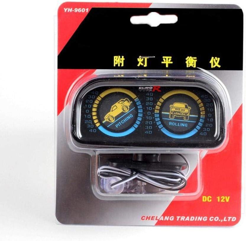 Sunniy Inclinometro per Auto Bilanciatore Misurare Il Livello del Veicolo per Auto Indicatore di inclinazione di Livello Indicatore di bilanciamento del Gradiente Misuratore di Pendenza
