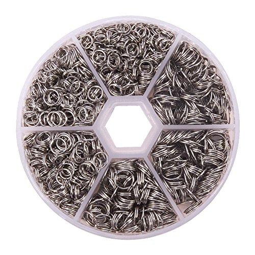 PandaHall Stainless Double Diameter Jewelry