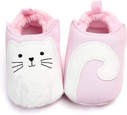 Infant Baby Girl Boy Toddler Anti-slip Warm Slippers Socks Cotton Crib Shoes New