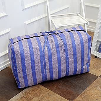 fcbd17859f Tick Tocking Extra thick Oxford cloth large moving bag waterproof duffel bag  wholesale thick canvas bag non-woven  Amazon.co.uk  Clothing