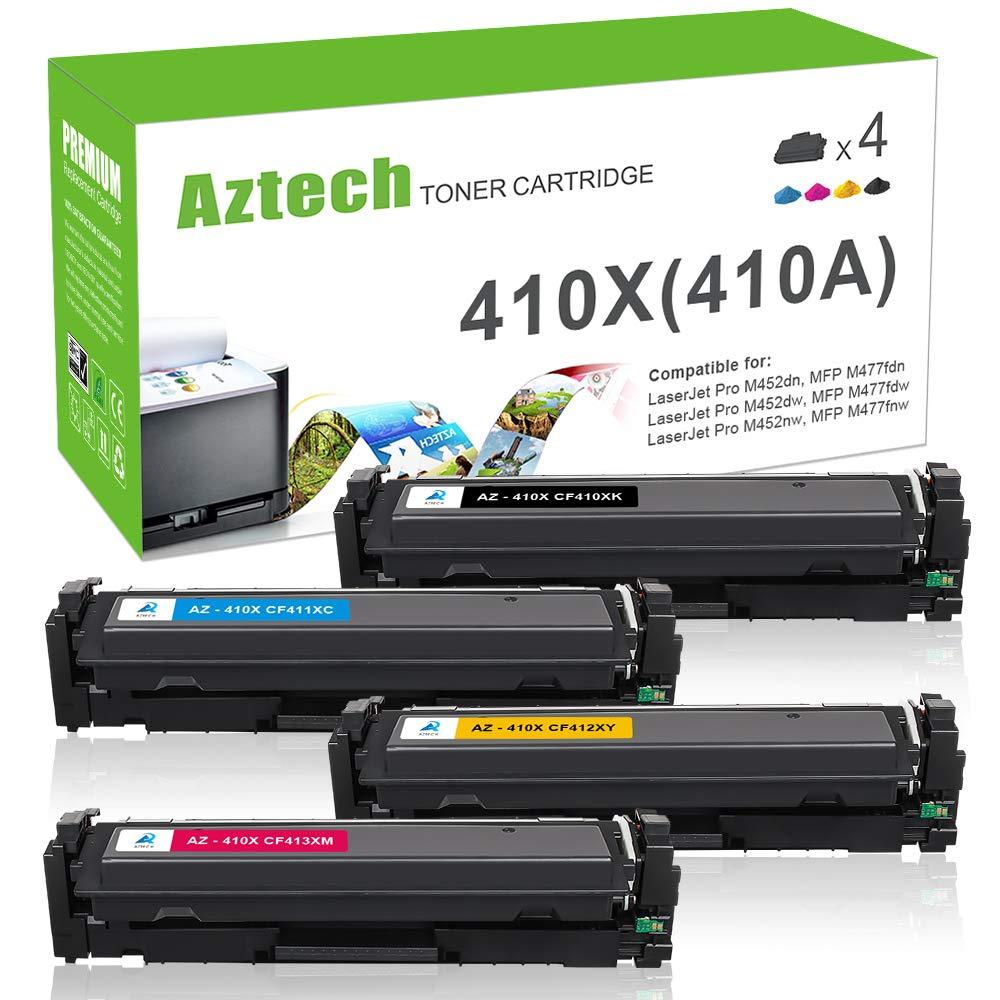 Toner Alternativo ( X4 ) 4 Colores 410A CF410A 410X CF410...
