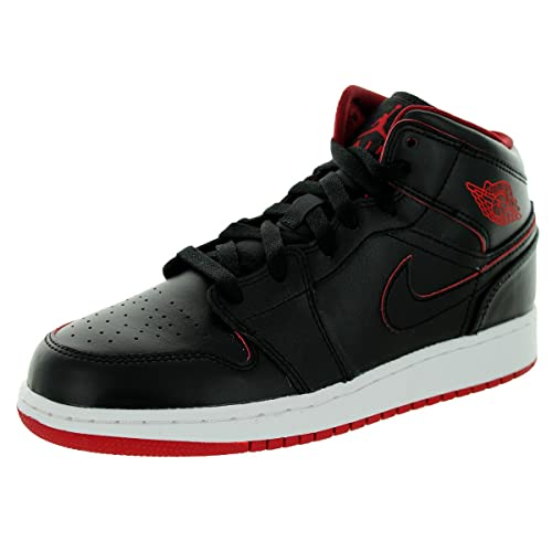 Black and Red Air Jordan Kids: Amazon.com