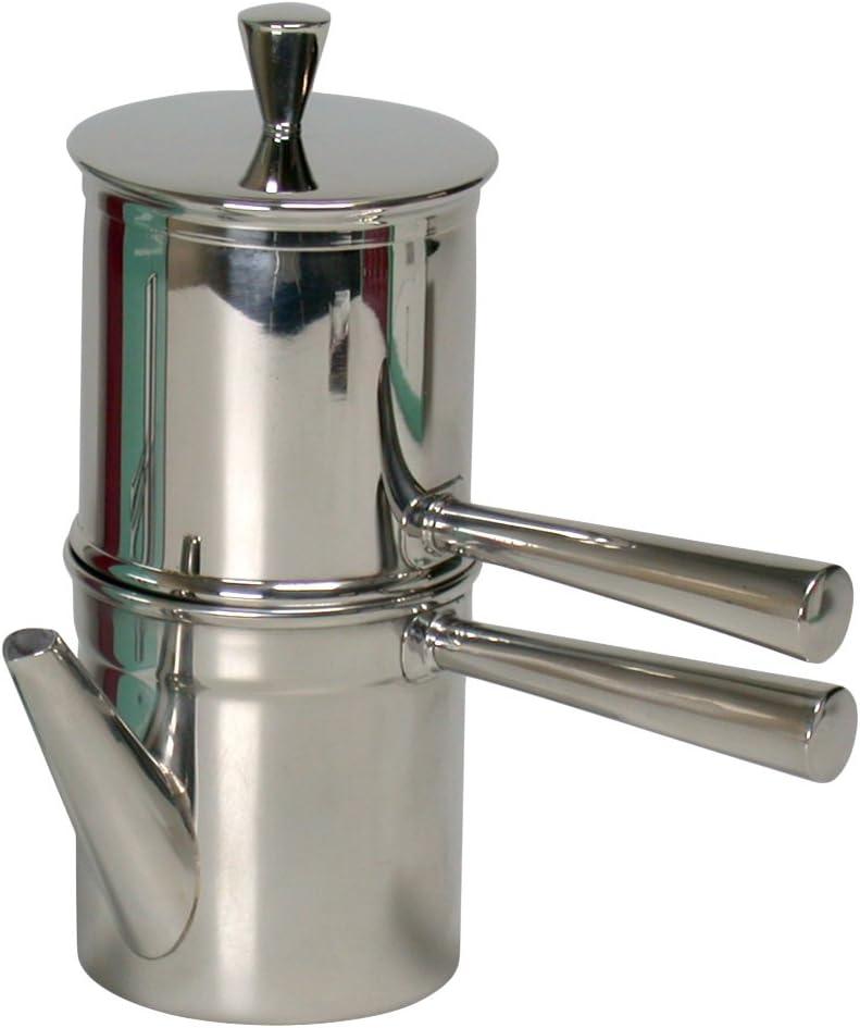 Amazon.com: Neapolitan cafetera de espresso 2 Copa: Kitchen ...