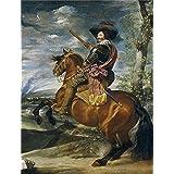 Canvas Prints Of Oil Painting 'Velazquez Diego Rodriguez De Silva Y Gaspar De Guzman Count Duke Of Olivares 1635' 12 x 16 inch / 30 x 40 cm , Polyster Canvas, Bath Room, Home Theater And Nu decoration