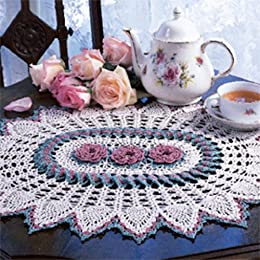 Rose Ring Doily Thread Crochet ePattern - Kindle edition ...