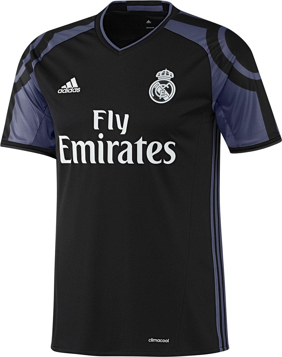 新しい。Real Madrid Third ' 16' 17 Soccer Jersey (ブラック/パープル) Lサイズ B07B79J4L6