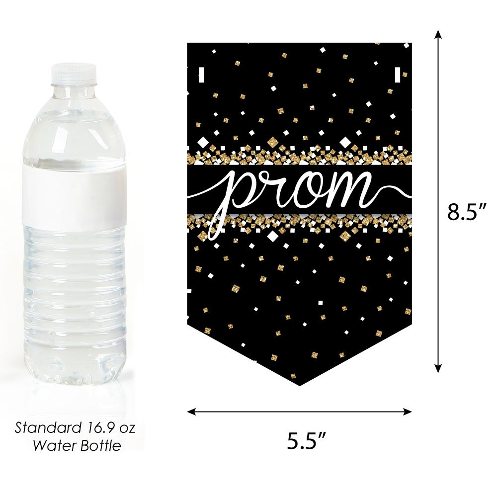 Big Dot of Happiness Prom - Prom Night Party Bunting Banner - Party Decorations - Dance The Night Away by Big Dot of Happiness (Image #2)