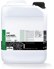 GreenPet Aceite de salmón 5 Litros para Perros, Gatos y Caballos, ácidos grasos omega