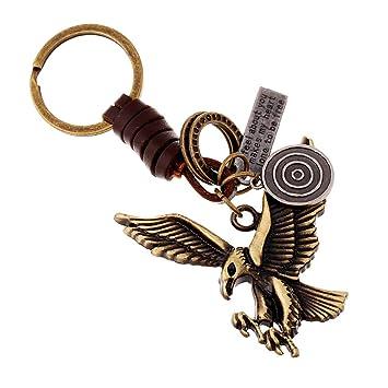 SEGRJ - Llavero Rectangular con diseño de águila para Colgar ...