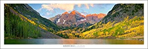 Vista Point Studio Gallery Rocky Mountains | Maroon Bells Colorado