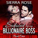 Seduced by My Billionaire Boss: The Billionaire Boss Series, Book 1 Audiobook by Sierra Rose Narrated by Marian Hussey
