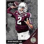 0d09fbd96 Johnny Manziel Football Card (Texas A M Aggies) 2014 Upper Deck  Conference... Autograph Warehouse