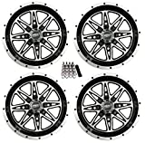 Sedona Badlands ATV Wheels/Rims Machined 14