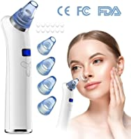 Blackhead and Acne Remover Vacuum, COOFO Rechargeable Electronic Facial Pore Cleaner Extractor Tool Beauty Machine with...