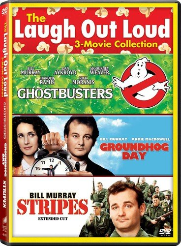 The Laugh at Loud: Ghostbusters / Groundhog Day / Stripes (3-Pack) (Leigh Stripe)