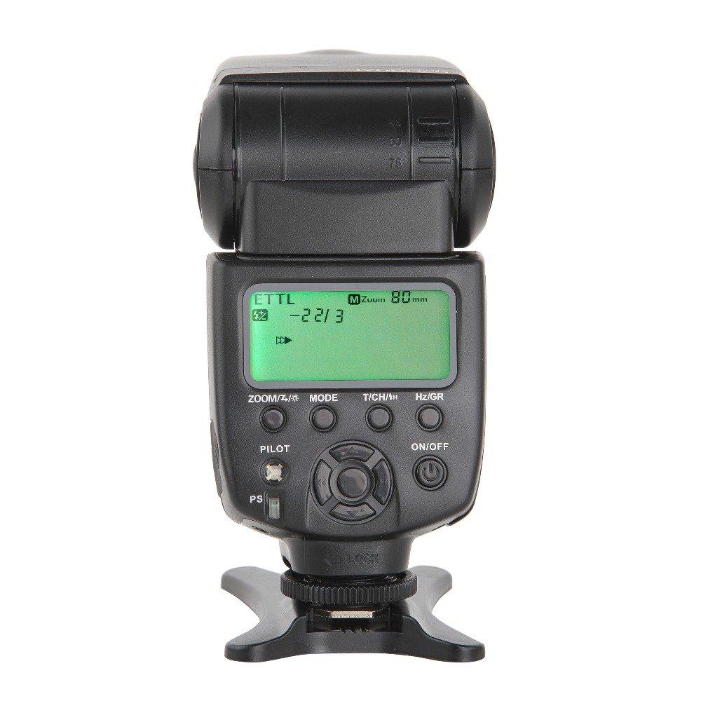 [ ROHS CE ] VILTROX JY-680Ch 1/8000S High Speed Sync HSS ETTL TTL Flash Speedlite for Canon DSLR 760D 750D 700D 650D 600D 70D 60D 5DII 7D GN58