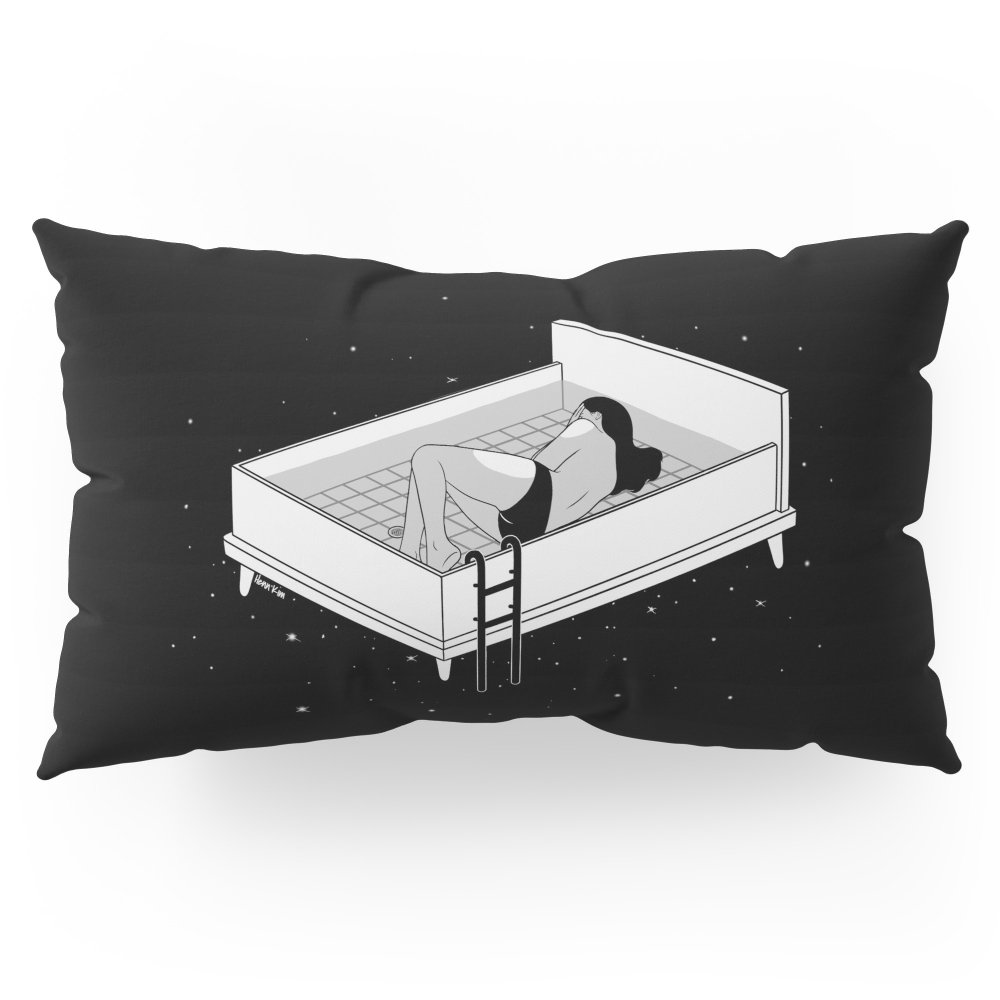 Society6 Bed For Crying Pillow Sham King (20'' x 36'') Set of 2