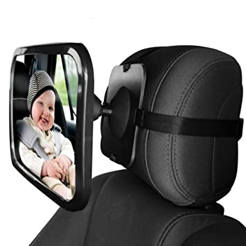 d957e50d4 Amazon.com   Baby Car Mirror Safe Baby Back Seat Car Mirror Backseat ...