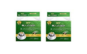 [Pack of 2] UCC craftsman of coffee drip coffee deep richness of the special blend 18P