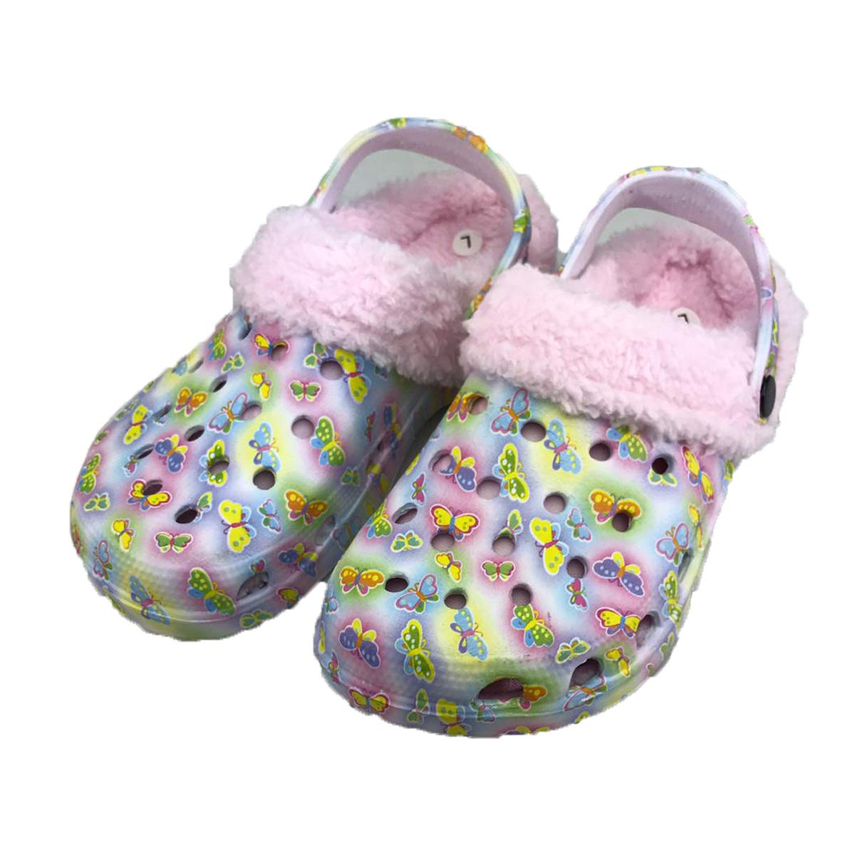 Homemate Kids Unisex Classic Fur Lined Clog