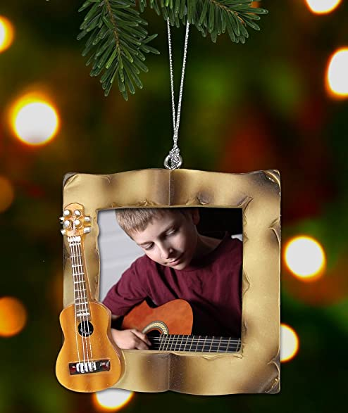 Amazoncom Guitar Christmas Ornament  Picture Ornament for a