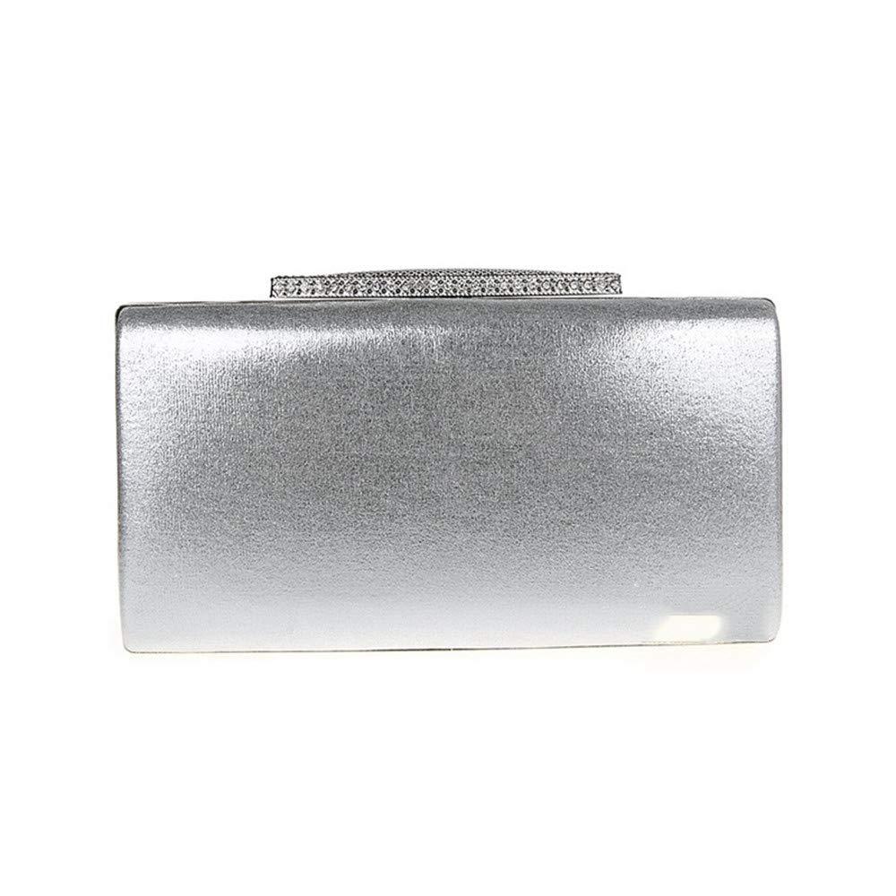Yaunli aftonväska elegant glitter kvällsväskor glittrande kuvertväska bling aftonhandväska för dans bröllop damaftonväska (färg: Guld) SILVER