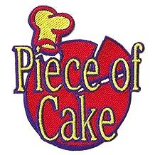 Patche écusson thermocollant Piece of Cake