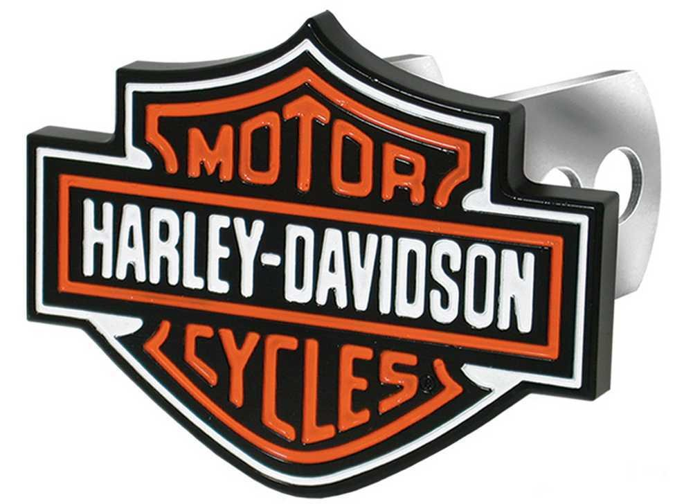 Plasticolor 002216 Harley-Davidson Full-Color Aluminum Hitch Plug by Plasticolor