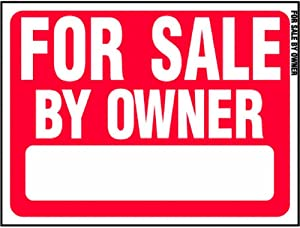 """HY-KO PROD for Sale by Owner Sign, 18"""" x 24"""" (RS-605)"""