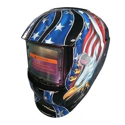 Solar soldadura de Oscurecimiento Automático casco arco Tig Mig soldador de soldadura lente máscaras de molienda