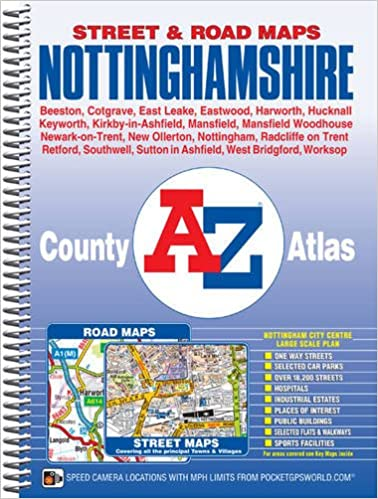 Nottinghamshire County Atlas (A-Z County Atlas): Amazon.co ... on arizona trail map, sedona arizona map, gila arizona map, kingman arizona map, arizona weather, arizona airports, arizona us map, arizona counties map blank, arizona mountains map, arizona industry map, arizona voting precincts map, jerome arizona map, grand canyon arizona map, arizona road map, western arizona map, arizona tribes map, arizona counties and cities, arizona elevation map, arizona cities map, arizona topographic map,