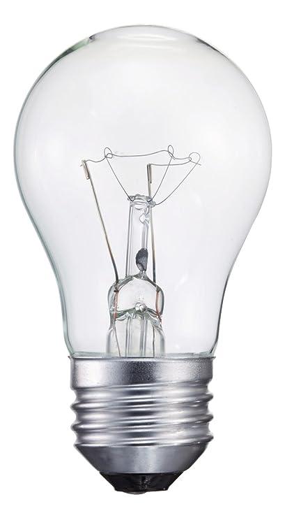 Philips 299990 Appliance Light Bulb, 40-Watt, A15 Glass Size, 1750 Hour