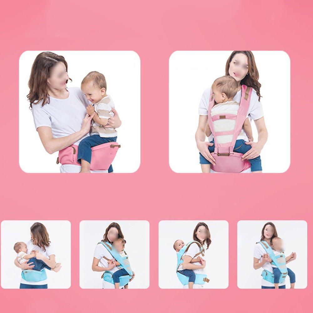 GLD Babytrage SJJL Vier Jahreszeiten Jahreszeiten Vier Universal Multifunktions Baby Carrier Komfortable atmungsaktiv abnehmbare Baby-Geschirr (Farbe   B) a80585