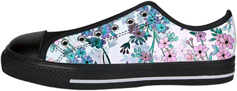 Daniel Turnai Fan Custom Flower Mens Classic High Top Canvas Shoes Fashion Sneaker