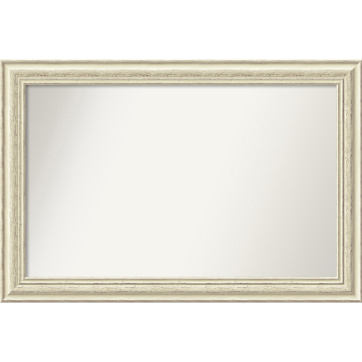Wall Mirror, Choose Your Custom Size Medium, Country White wash Wood