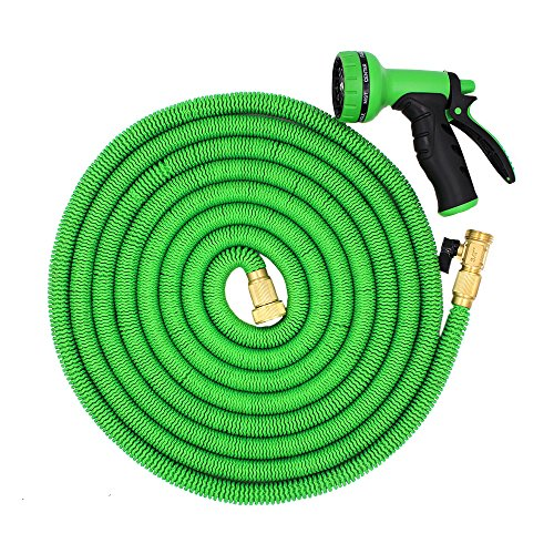 Kadaon 100 Feet Expandable Garden Hose With 8-pattern Sprayer Nozzle ...
