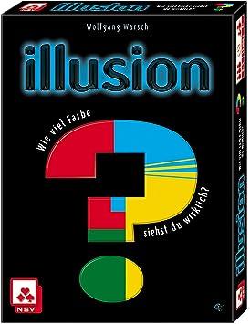 Nürnberger Spielkarten Tarjetas Verlag 08819908056 nsv – 4057 – Illusion – Juego de Cartas: Amazon.es: Juguetes y juegos