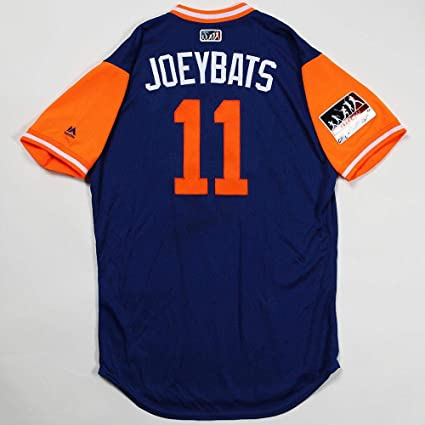 e80c2bc04c3 Image Unavailable. Image not available for. Color  Jose quot joey  Bats quot  Bautista Game Worn 2018 Players Weekend Mets Rusty Staub Jersey -