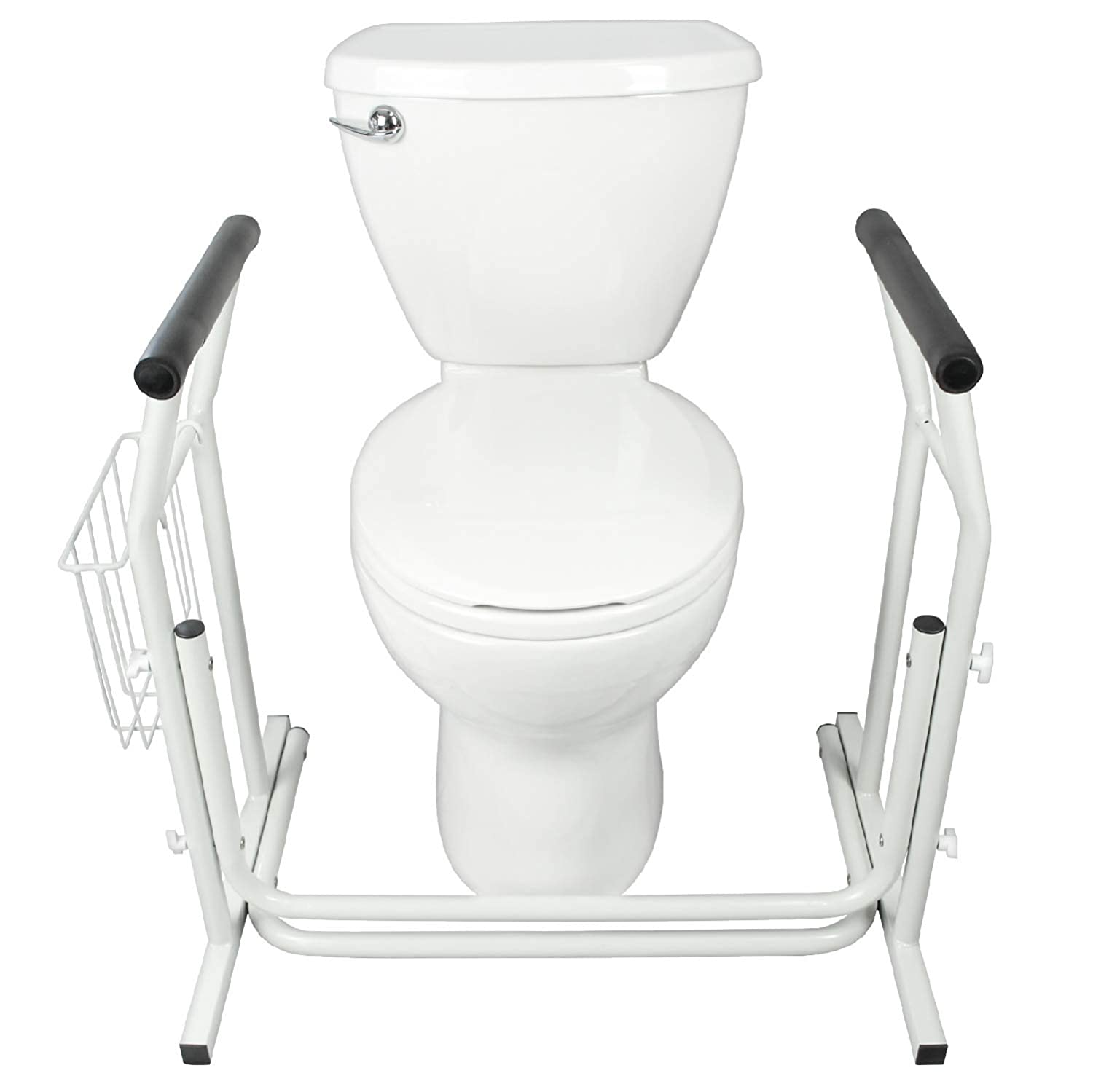 Amazon.com: Stand Alone Toilet Rail by Vive - Medical Bathroom ...