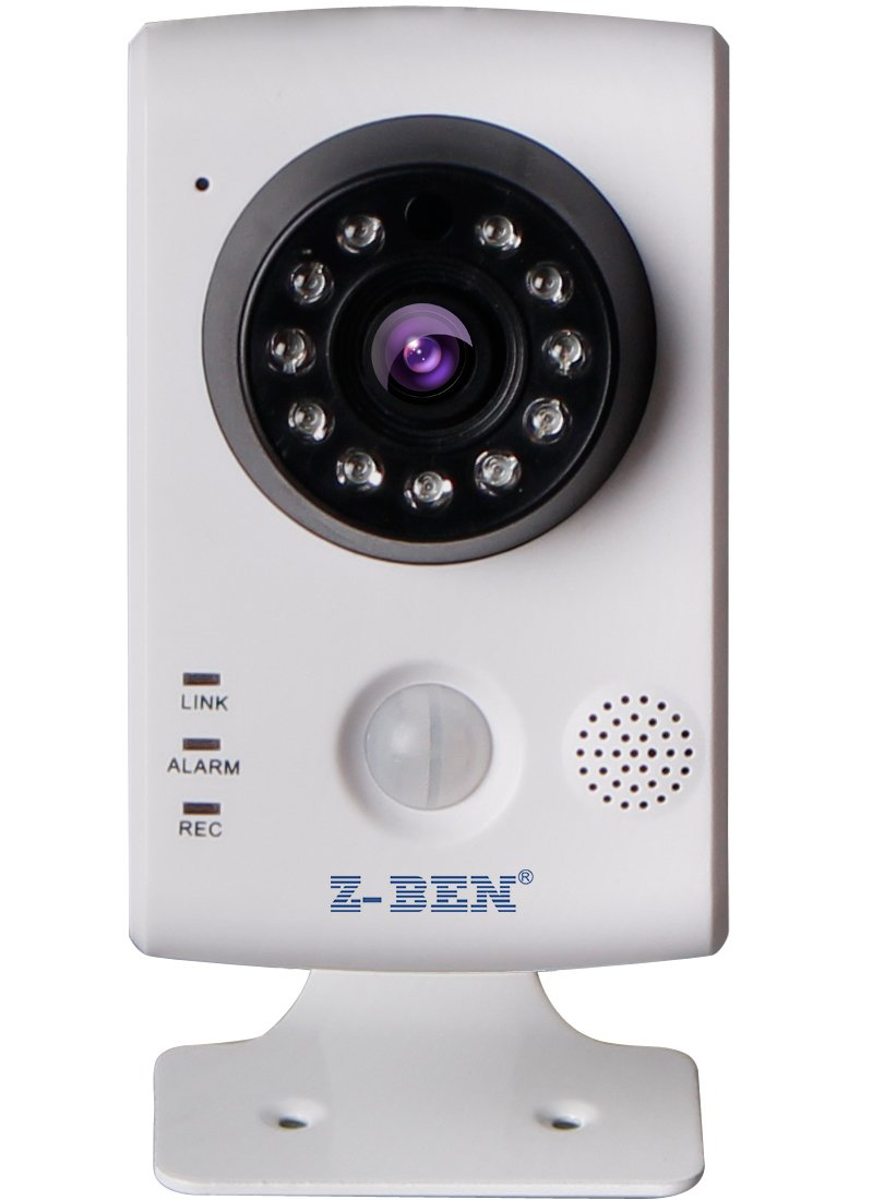 Amazon.com : Z-BEN Wireless Smart Home-IPBH02 H.264 Cube IP Camera with PIR, HD Wi-Fi Camera Micro SD card smart Motion Detection Email Alert IOS/Android ...